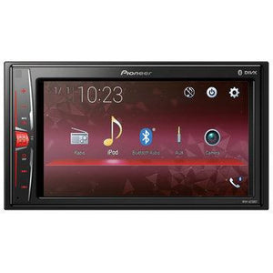 "Pioneer MVH-A210BT 6.2"" Clear Type Resistive touchscreen with USB, Aux-in and video out, also supports iPod / iPhone Direct Control - WWW.PLANETAUTO.IE"