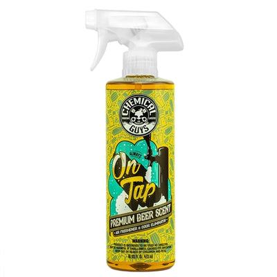 Chemical Guys On Tap Beer Scented Air Freshener and Odor Eliminator 473ml - WWW.PLANETAUTO.IE