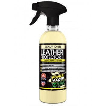 Power Maxed Leather Protector 500ml - WWW.PLANETAUTO.IE