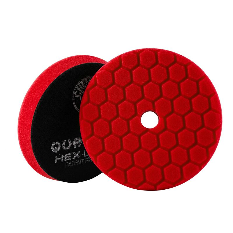 "Chemical Guys Red Hex-Logic Quantum Ultra Light Finishing Pad 5.5"" - WWW.PLANETAUTO.IE"