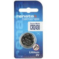 Renata CR2430 3V Button Cell Battery