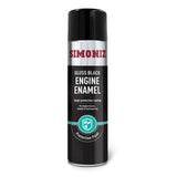 Simoniz Engine Enamel Gloss Black Aerosol 500ml