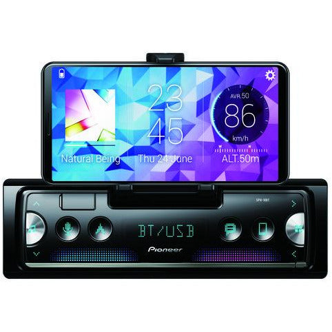 Pioneer SPH-10BT Smartphone Cradle with Bluetooth USB Android & iPhone - WWW.PLANETAUTO.IE