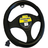 Simply Genuine Leather Steering Wheel Cover - WWW.PLANETAUTO.IE