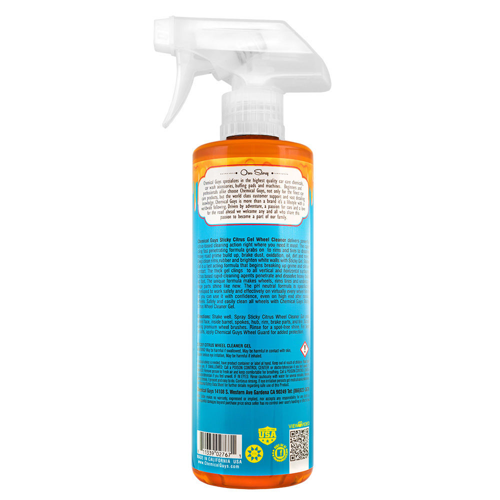 Chemical Guys Sticky Citrus Gel Wheel & Rim Cleaner 473ml - WWW.PLANETAUTO.IE