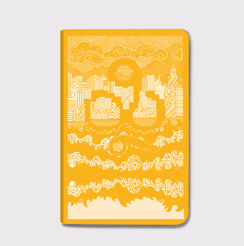 Sheheri Khayal Notebook- City Scapes - Yellow