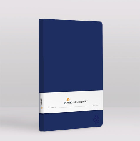 Brewing Blue Notebook