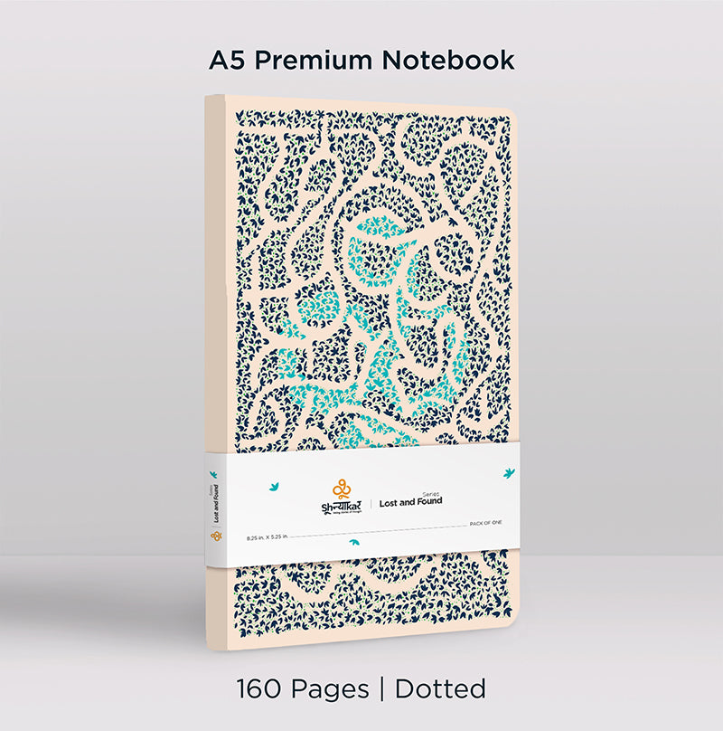 Lost and Found Notebook | 160 Pages | Dotted