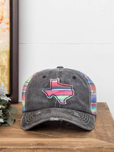 Load image into Gallery viewer, Texas Serape Distressed Hat