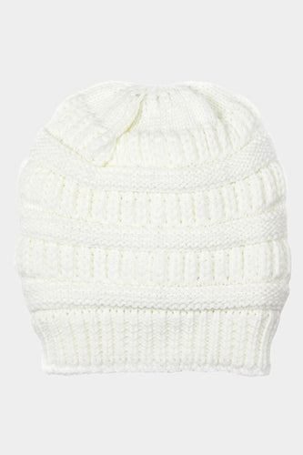 Fleece Lined Beanies - only White left