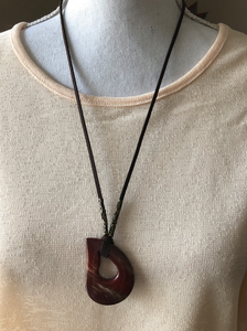 Natural Agate Pendant Necklace - 6 different gemstones