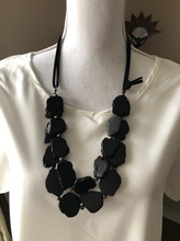 Load image into Gallery viewer, Chunky Beads Double Layer Necklace - 5 colors