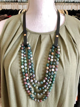 Load image into Gallery viewer, Round Gemstone Beaded Necklaces- 8 choices