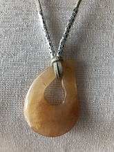 Load image into Gallery viewer, Natural Agate Pendant Necklace - 6 different gemstones