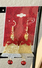 Load image into Gallery viewer, Christmas Bells Earrings
