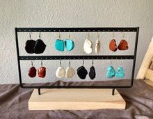 Load image into Gallery viewer, Large Chunky Beaded Earrings - 4 different stones