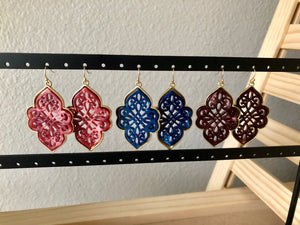 Moroccan Filigree Earrings
