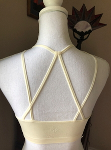 Black or Off White Seemless Bralette- Med-XXL