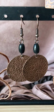 Load image into Gallery viewer, Stamped Copper Earrings