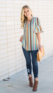 Summer Stripes Top