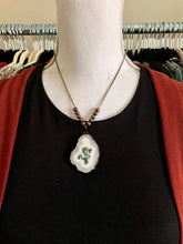 Load image into Gallery viewer, Sunflower Quartz Pendant Necklace