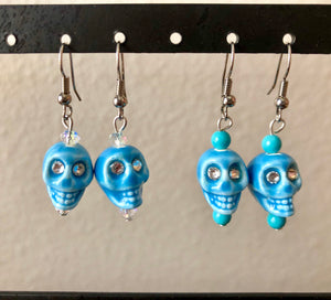Dia de Los Muertos Skull Earrings - 4 Colors