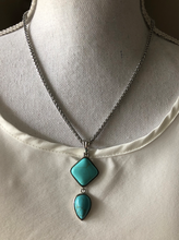 Load image into Gallery viewer, Square Drop Pendant - multiple colors