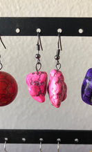 Load image into Gallery viewer, Dyed Stone Earring Collection. 6 different colors