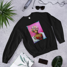 "Load image into Gallery viewer, ADP Unisex Sweatshirt ""GIve me Flowers"""