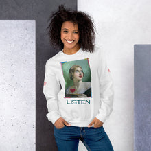 "Load image into Gallery viewer, ADP Unisex Sweatshirt ""Listen"""