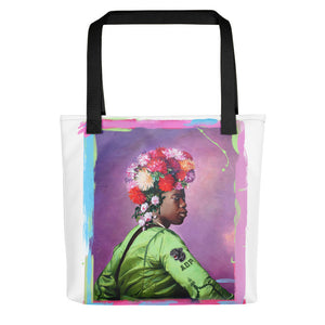 "ADP Tote bag ""FLOWER POWER"""
