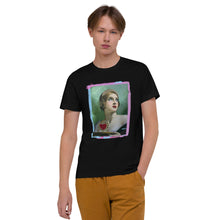 Load image into Gallery viewer, ADP Unisex Organic Cotton T-Shirt Listen To Your Heart