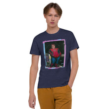 "Load image into Gallery viewer, ADP Unisex Organic Cotton T-Shirt ""Will Catch Villains For Food"""