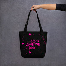 "Load image into Gallery viewer, ADP"" God Save the Punk!"" Tote bag"