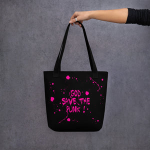 "ADP"" God Save the Punk!"" Tote bag"