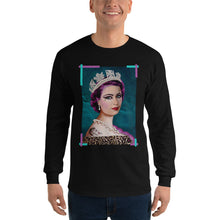 "Load image into Gallery viewer, ADP Men's Long Sleeve Shirt ""God Save the Punk!"""