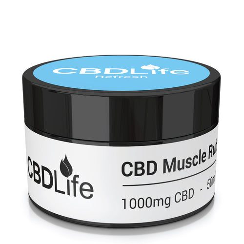 1000mg Muscle Rub – 50ml
