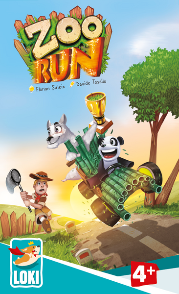 Zoo Run: The Great Escape and A Grand Prix in one box!