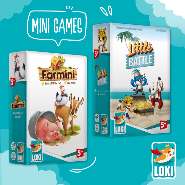 LOKI Mini Games: In a farm or on a mysterious island?
