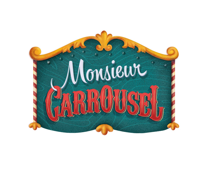 A new review from Dad Suggests! Monsieur Carrousel #1 of Board Games for 3-Year-Olds