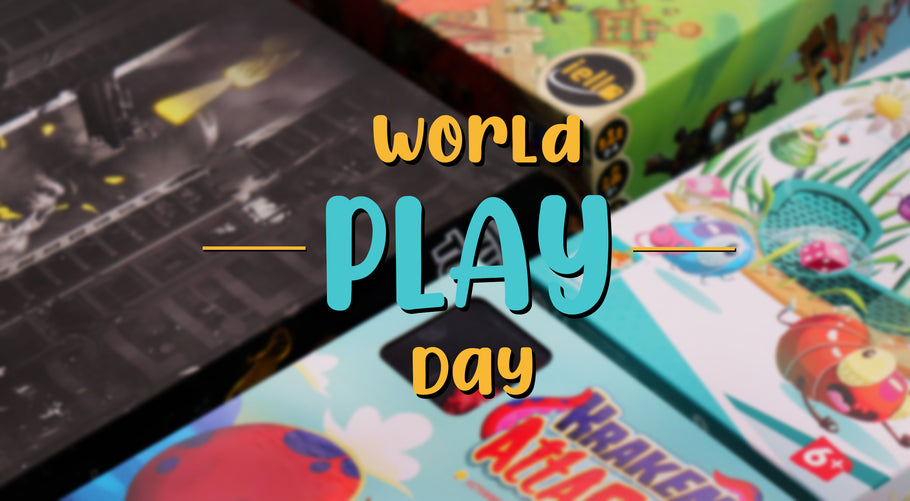 WORLD PLAY DAY TODAY!