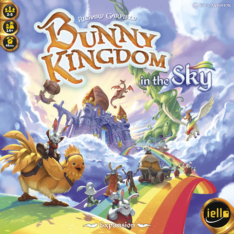 Bunny Kingdom in the Sky boardgame by IELLO