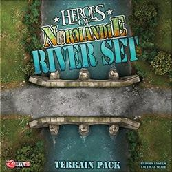 Heroes of Normandie: River Set Terrain Pack - UK Edition - IELLO
