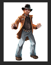 Load image into Gallery viewer, Arena: For the Gods! Promo Hero Chuck Norris - IELLO