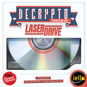 Decrypto Laser Drive by Scorpion Masque - IELLO