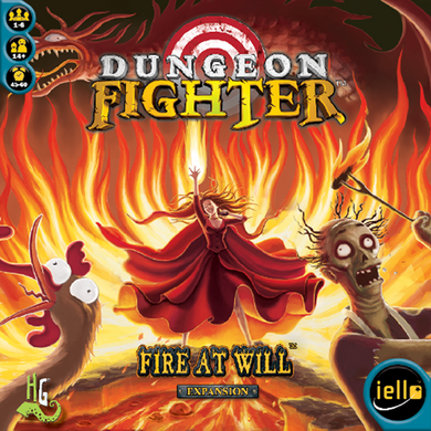 Dungeon Fighter - Fire at Will - IELLO