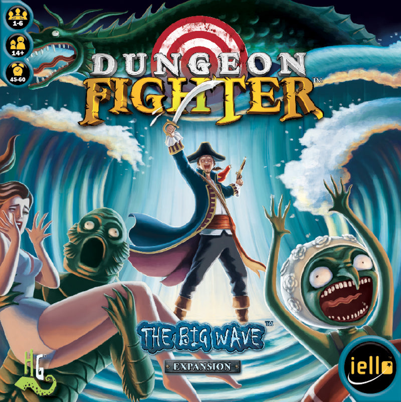 Dungeon Fighter - The Big Wave - IELLO