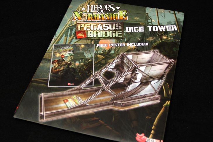 Heroes of Normandie: Pegasus Bridge Dice Tower - IELLO