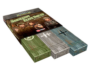 Heroes of Normandie: Normandy Elite Squad Units Storage Boxes Set - IELLO