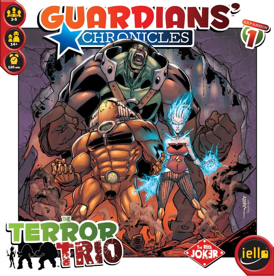 Guardians' Chronicles -  The Terror Trio - IELLO